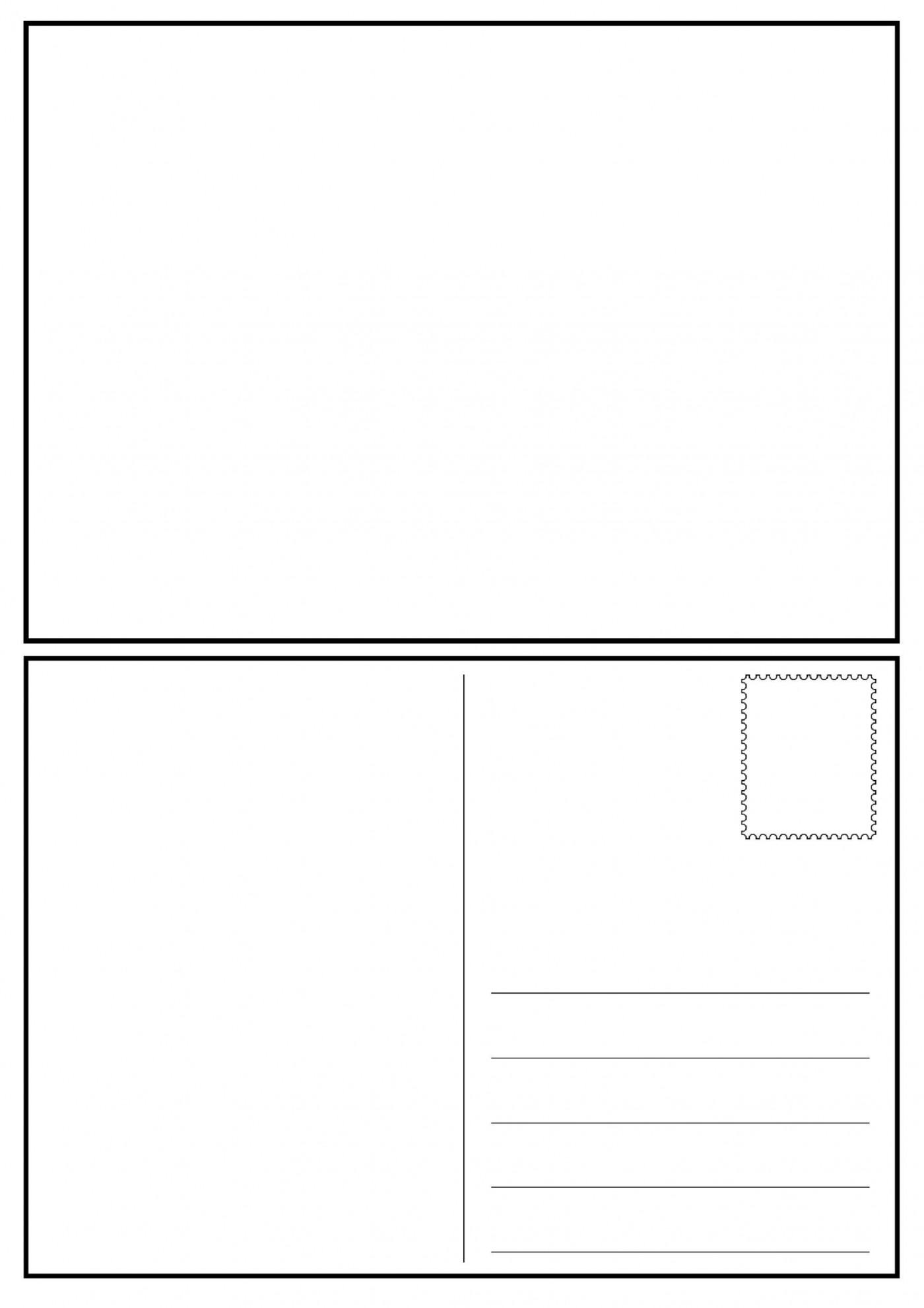 008 Impressive Postcard Layout For Microsoft Word Idea  Busines Template1400