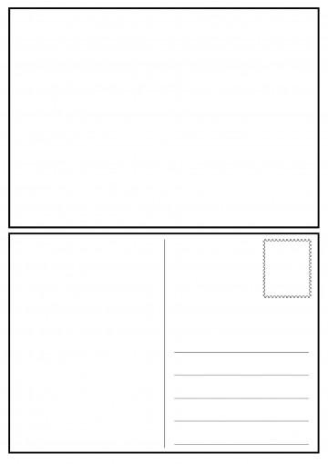 008 Impressive Postcard Layout For Microsoft Word Idea  Busines Template360