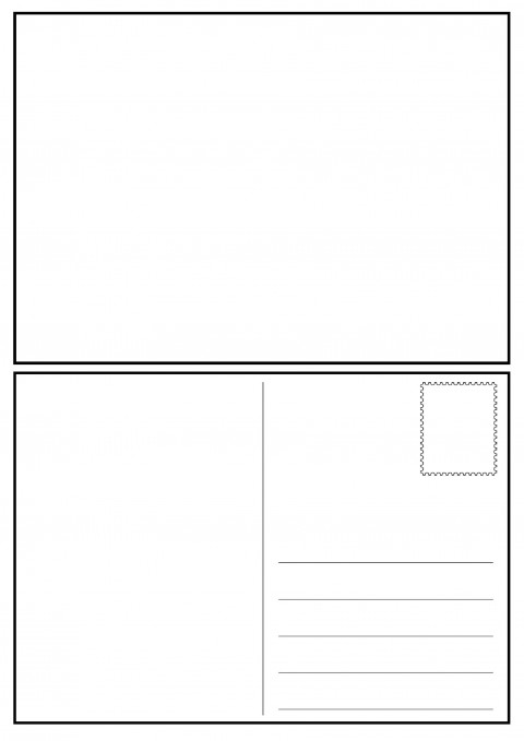 008 Impressive Postcard Layout For Microsoft Word Idea  Busines Template480