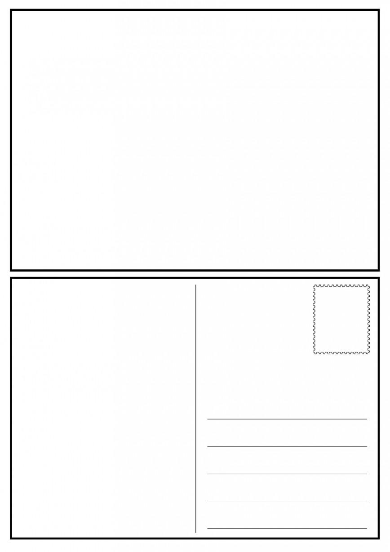 008 Impressive Postcard Layout For Microsoft Word Idea  Busines Template868