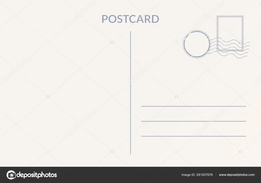 008 Impressive Postcard Template Front And Back Example  Free