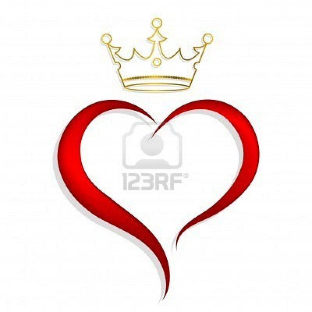 008 Impressive Queen Of Heart Crown Printable Idea  TemplateLarge