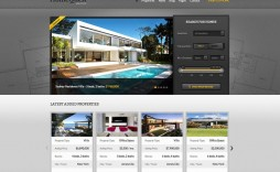 008 Impressive Real Estate Template Wordpres High Def  Wordpress Realtyspace - Theme Free Download With Mobile App
