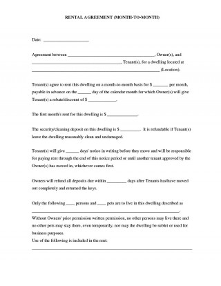008 Impressive Rental Agreement Template Word Free Inspiration  Room Doc In Tamil Format Download320