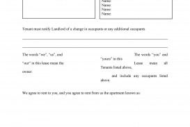 008 Impressive Renter Lease Agreement Form Image  Rent Format In Tamil Florida Rental Printable