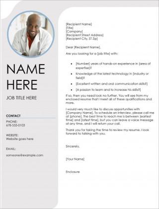 008 Impressive Resume Cover Letter Template Microsoft Word Picture 320