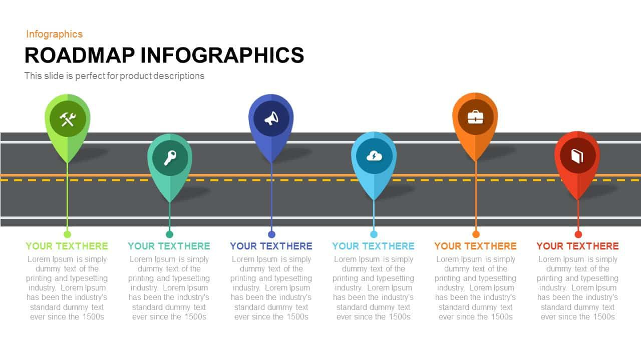 008 Impressive Road Map Template Powerpoint Picture  Roadmap Ppt Free Download ProductFull