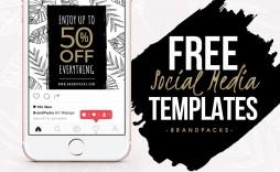 008 Impressive Social Media Template Free Psd Example  Download