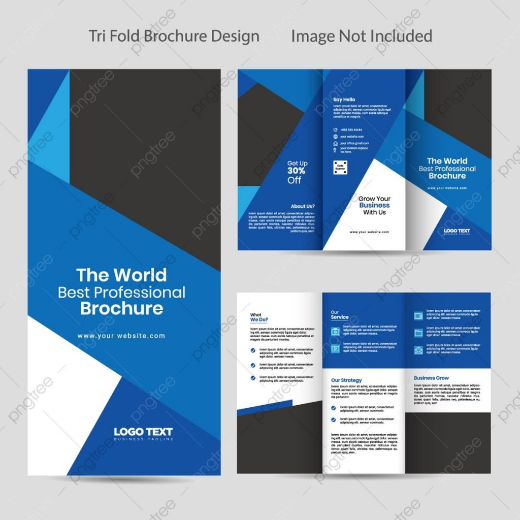 008 Impressive Template For Trifold Brochure High Definition  Tri Fold Indesign A4 Free In Word DownloadLarge