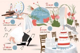 008 Impressive Wedding Timeline Template Free High Def  Day Excel Program320