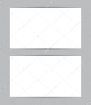 008 Incredible Busines Card Blank Template Example  Download Free360