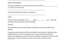 008 Incredible Busines Partnership Contract Template High Def  Agreement Free Download South Africa Nz