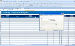 008 Incredible Checkbook Register Template Excel 2013 Highest Quality