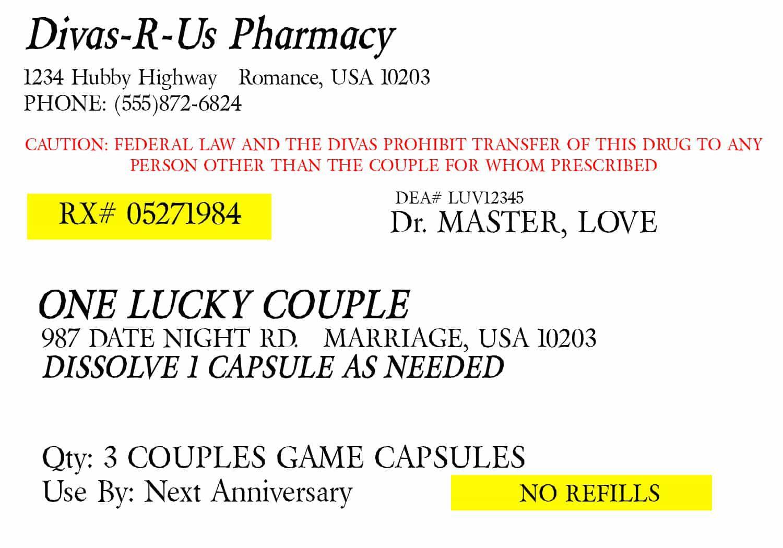 008 Incredible Fake Prescription Label Template Image  Walgreen BottleFull