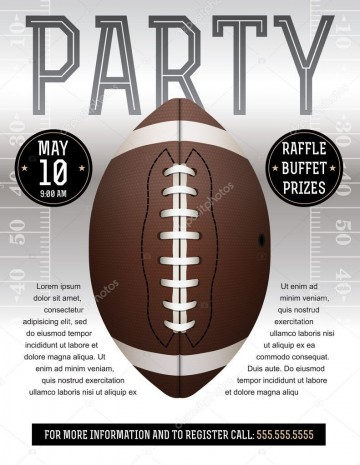 008 Incredible Free Tailgate Party Flyer Template Download Concept 360