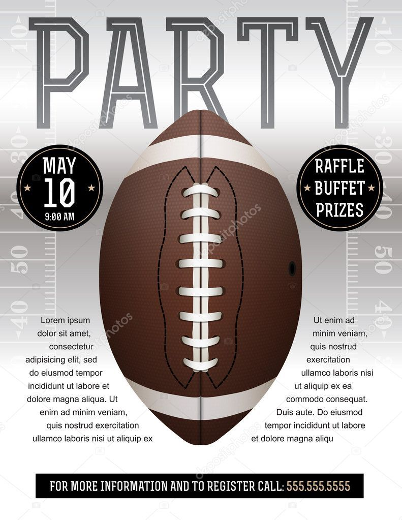 008 Incredible Free Tailgate Party Flyer Template Download Concept Full