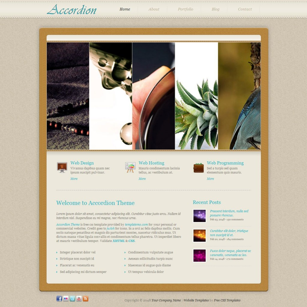 008 Incredible Free Website Template Download Html And Cs Jquery Slider High Resolution Large