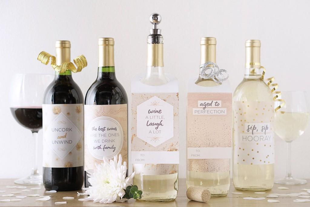 008 Incredible Free Wine Bottle Label Template Image  Mini PrintableLarge