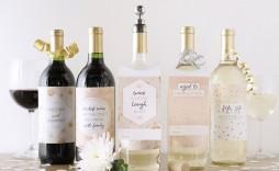 008 Incredible Free Wine Bottle Label Template Image  Mini Printable