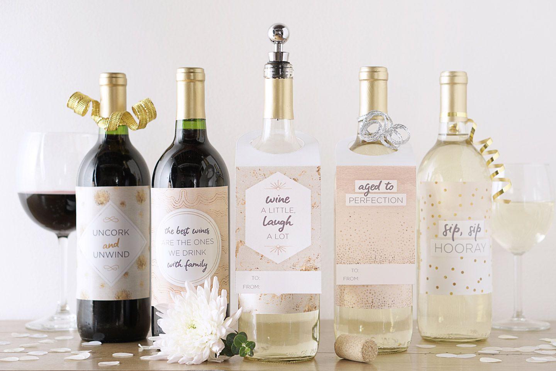 008 Incredible Free Wine Bottle Label Template Image  Mini PrintableFull