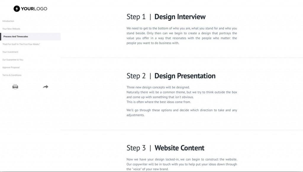 008 Incredible Freelance Website Design Proposal Template High Def Large