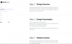 008 Incredible Freelance Website Design Proposal Template High Def