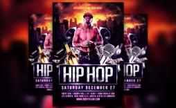 008 Incredible Hip Hop Flyer Template Concept  Templates Hip-hop Party Free Download