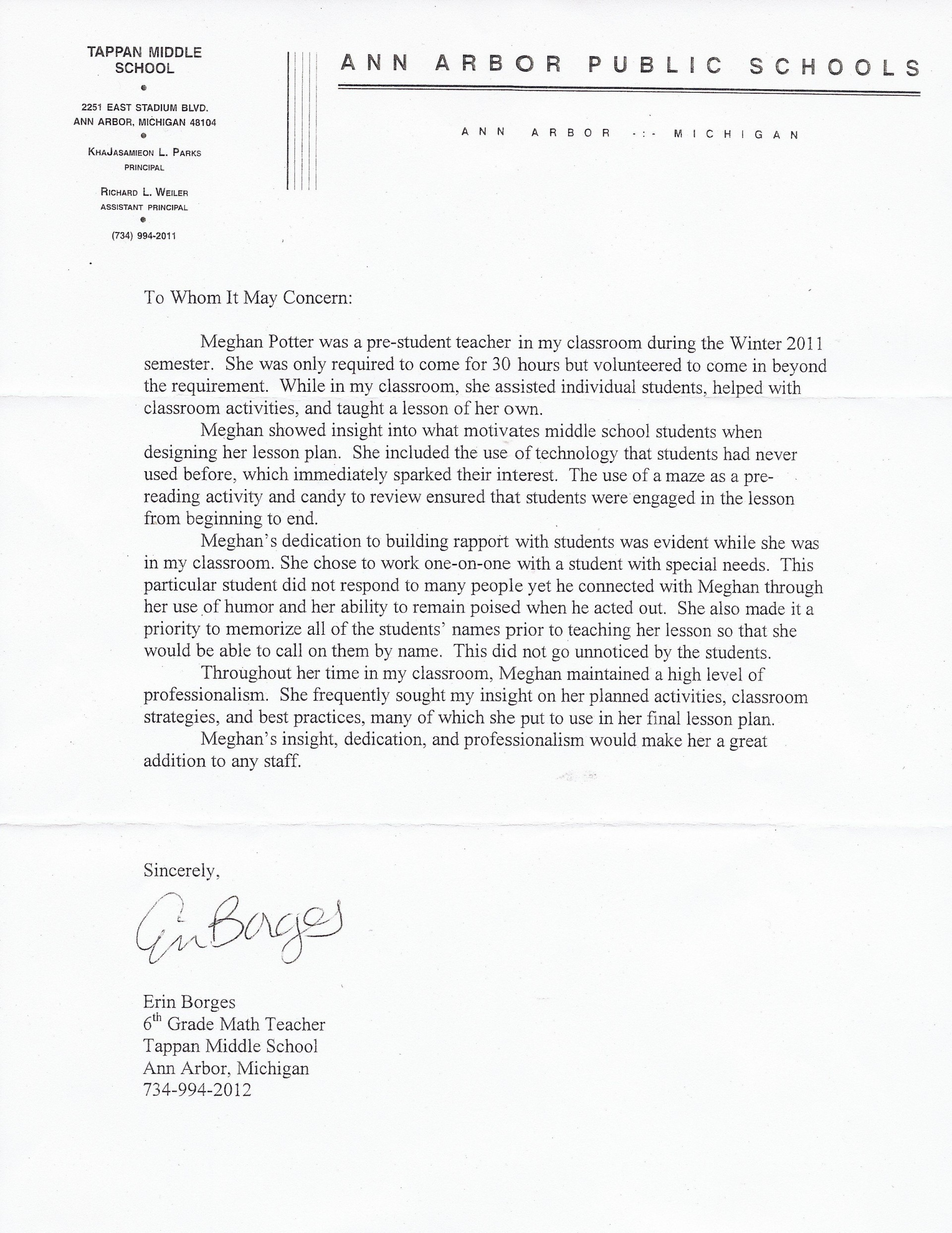 008 Incredible Letter Of Recommendation For Student Teacher From Cooperating Template Inspiration 1920