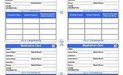 008 Incredible Medical Wallet Card Template Image  Free Alert Canada Information