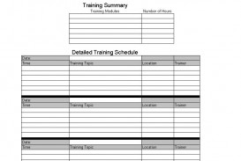 008 Incredible New Employee Training Plan Template High Resolution  Excel Free Download Program