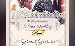 008 Incredible Photoshop Wedding Invitation Template Image  Templates Hindu Psd Free Download Card