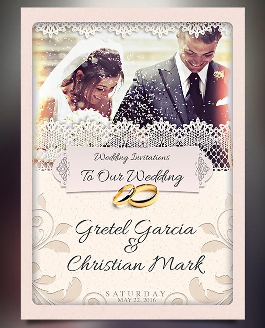 008 Incredible Photoshop Wedding Invitation Template Image  Templates Hindu Psd Free Download CardFull