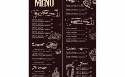 008 Incredible Restaurant Menu Template Free Highest Clarity  Card Download Indesign Word