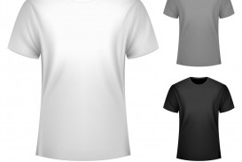 008 Incredible T Shirt Template Free Sample  White Psd Download Design Website