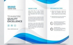 008 Magnificent Brochure Layout M Word Design  Microsoft Funeral Template