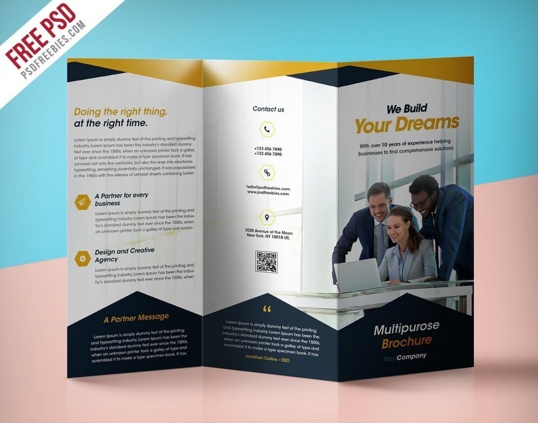008 Magnificent Busines Flyer Template Free Download Inspiration  Psd DesignFull