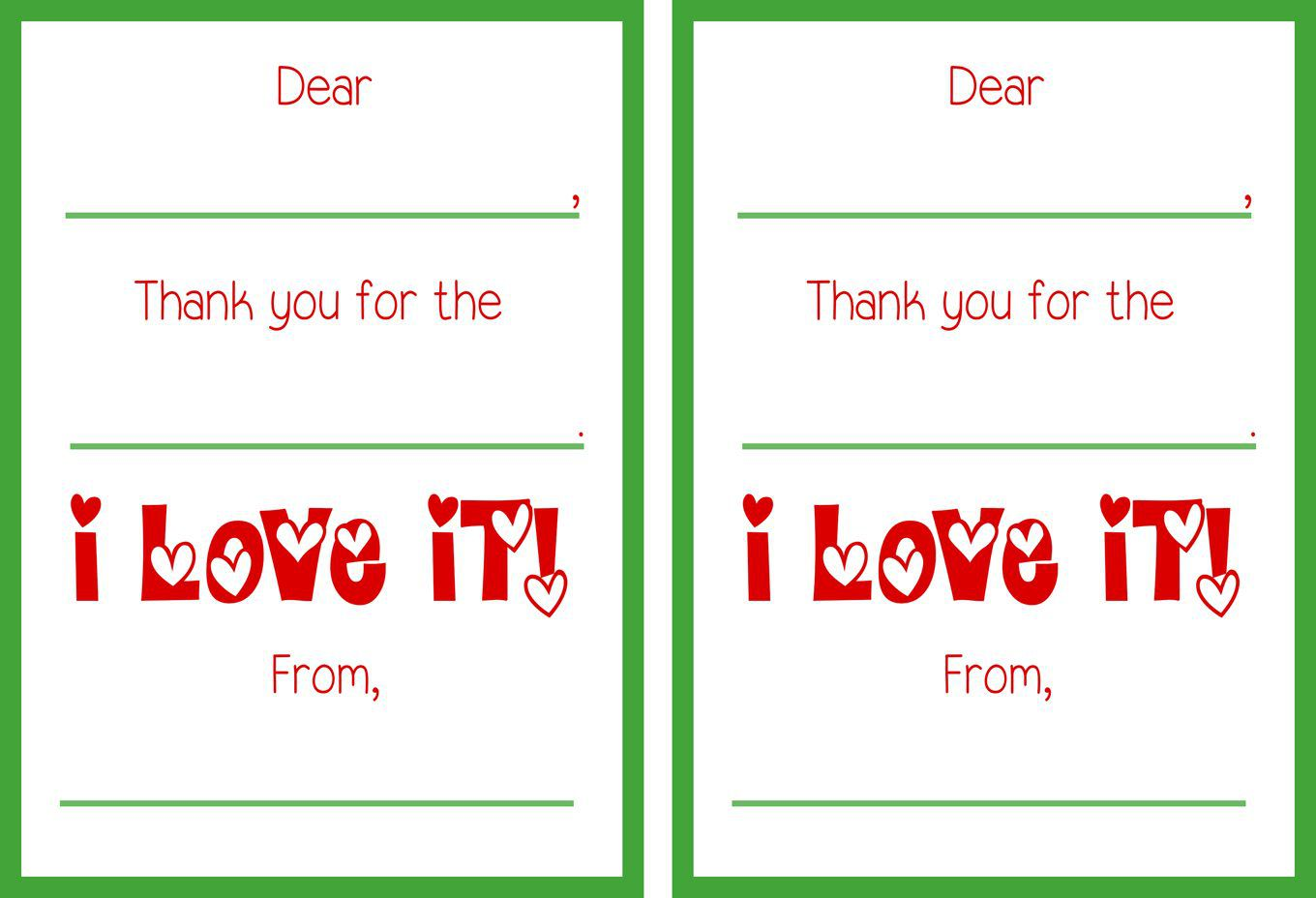 008 Magnificent Christma Thank You Note Template Free High Def  Letter CardFull