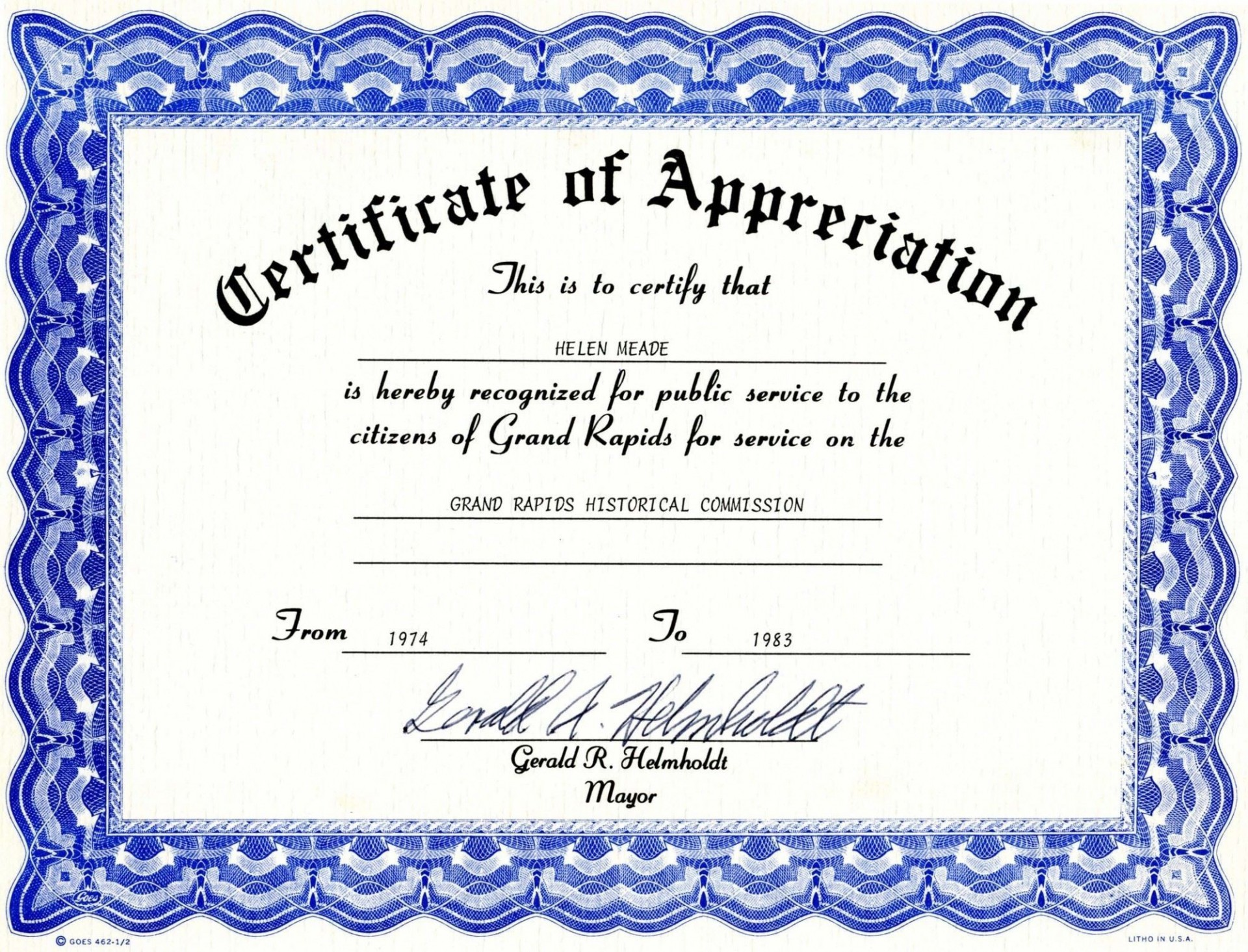 008 Magnificent Free Certificate Template Word Download Sample  Of Appreciation Doc Award Border1920