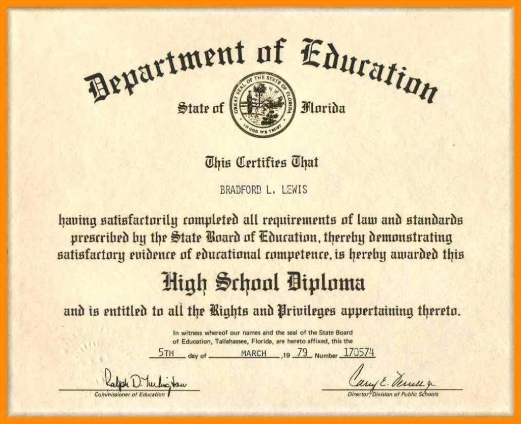 008 Magnificent Ged Certificate Template Download Sample  FreeLarge