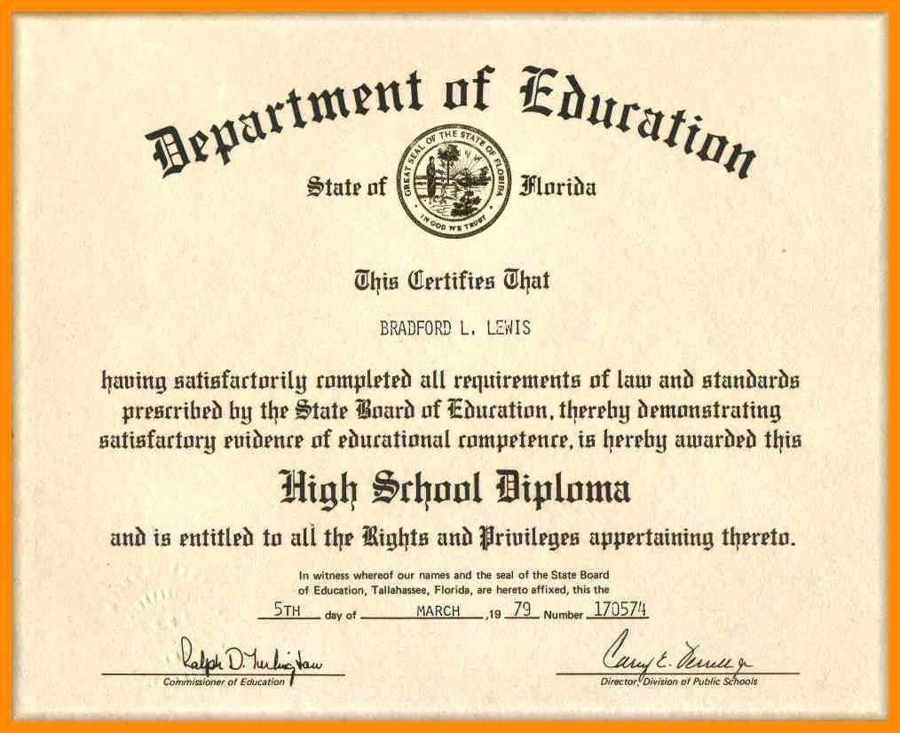 008 Magnificent Ged Certificate Template Download Sample  FreeFull