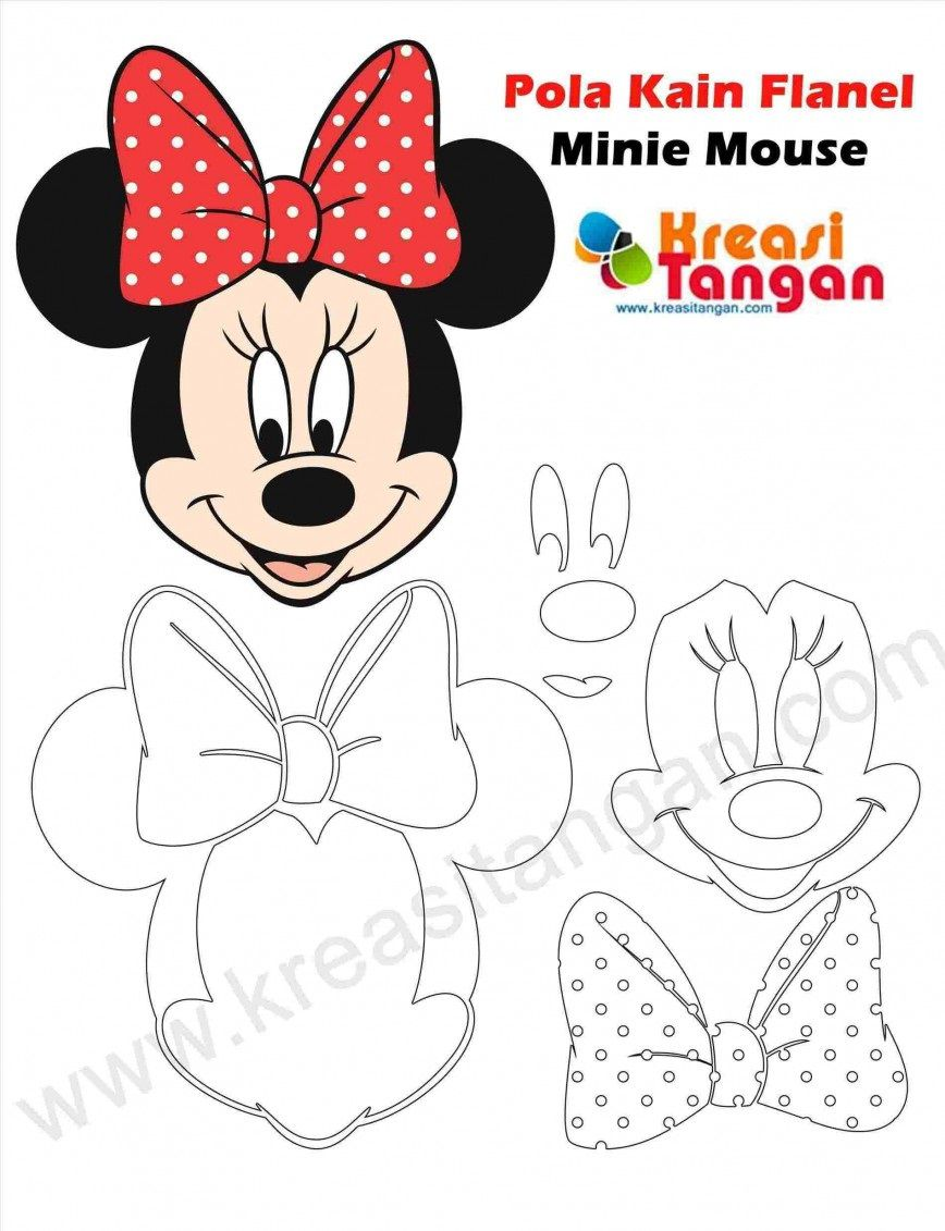 008 Magnificent Mickey Mouse Face Cake Template Printable High Def Full
