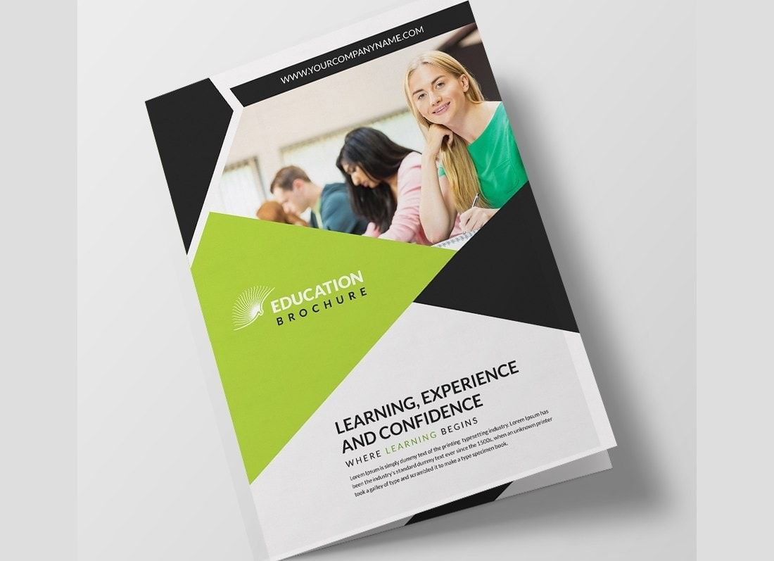 008 Magnificent M Word Brochure Template Free Download Sample  Microsoft 2007Full
