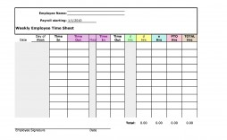 008 Magnificent Operation Employee Time Card Excel Template Image