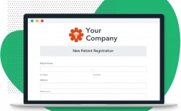 008 Magnificent Patient Information Form Template Inspiration  Word Update