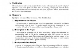 008 Magnificent Research Project Proposal Example Pdf Inspiration  Format