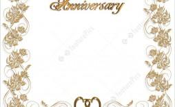008 Marvelou 50th Wedding Anniversary Invitation Sample Design  Samples Free Party Template Card Idea