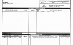 008 Marvelou Bill Of Lading Template Word Doc Idea  Document Form