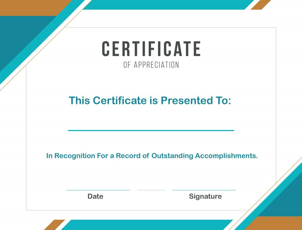 008 Marvelou Certificate Template For Word Highest Clarity  Award 2007 MLarge