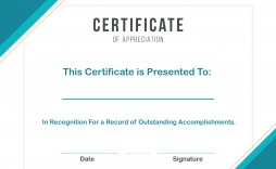 008 Marvelou Certificate Template For Word Highest Clarity  Award 2007 M