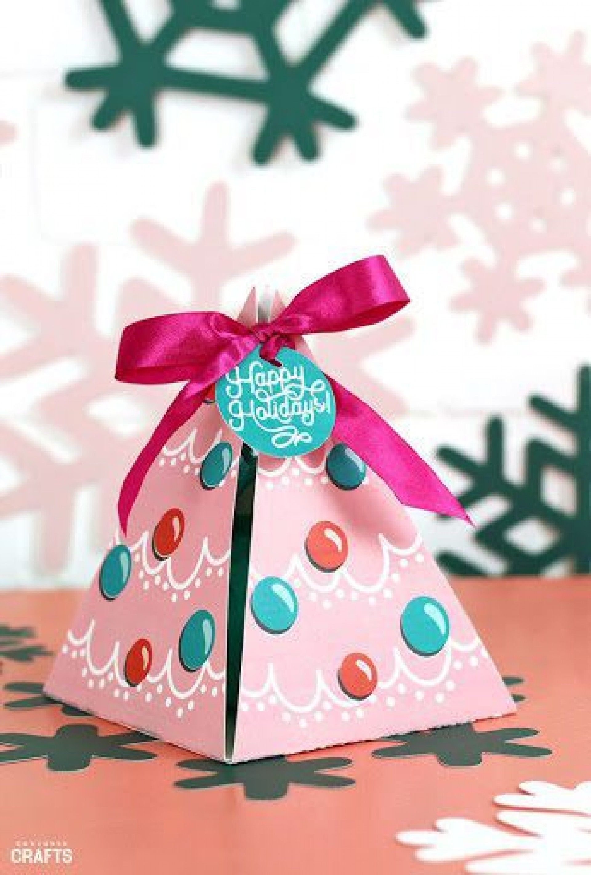 008 Marvelou Christma Gift Box Template Free Printable Concept  Tree1920